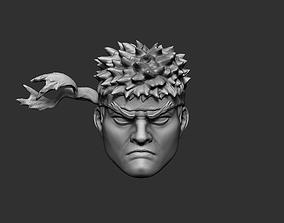 Ryu Street Fighter Magnet 3D print model