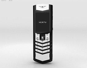 3D model Vertu Signature Black and White