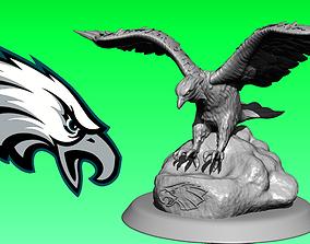 Statue The Philadelphia Eagles - NFC 3D printable model 2