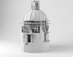 Epicyclarium Lebbeus Woods 3D model
