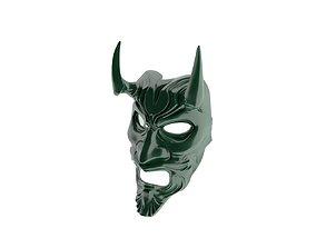 Demon Mask 3D model low-poly