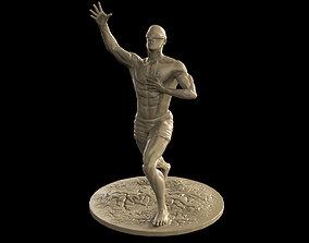 Human Statue 3D print model