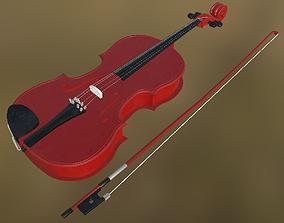 3D asset Viola 03 PBR
