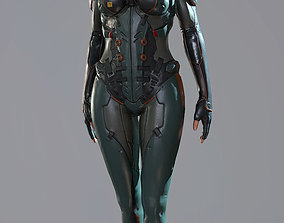 realtime Ada Sci-fi Game Ready low-poly 3d model