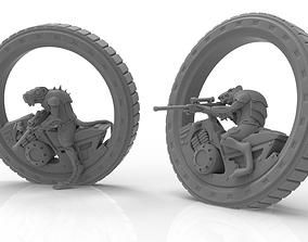 3D print model Cheese Stealer Cult - Tunnel Rider Alpha