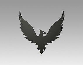 Heraldry eagle 3D