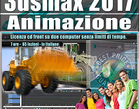 animated 005 3ds max 2017 Animazione Vol 5 Cd