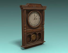 3D model VR / AR ready PBR Clock
