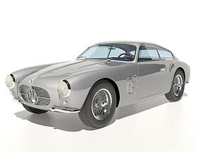 Maserati A6G Zagato no 2124 3D model