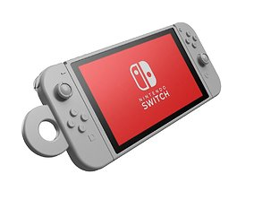 Nintendo Switch key ring 3D print model other