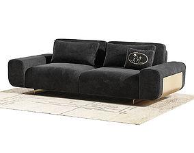 Fendi Casa Camelot Sofa 3D model
