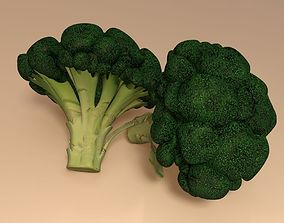 Broccoli food 3D