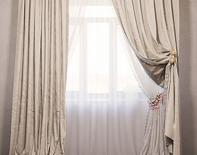 3D model Curtains Chicca Orlando