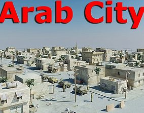 3D asset Arab City 01