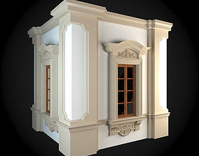 Wall decorative traditional 3D