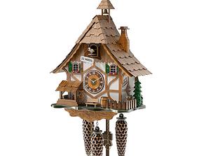 3D Cuckoo Clock clock