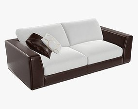 3D PBR Two seat sofa
