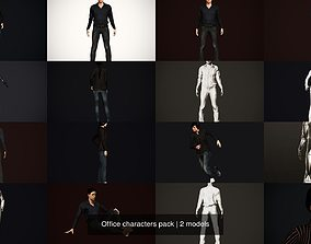 3D Office characters pack