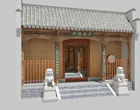China ancient yamun 3D model