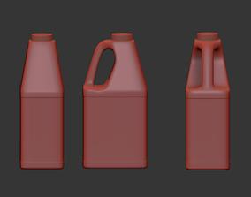 package Bottle 3d model