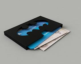Wallet Batman 3D printable model