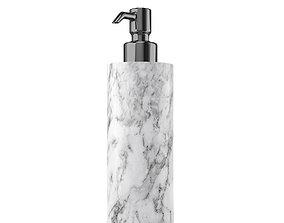 White Marble Soap Dispenser 3D