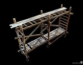 3D model game-ready Scaffolding