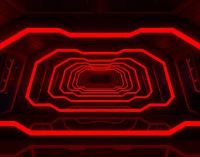 corridor Sci Fi Corridor 3D asset VR / AR ready