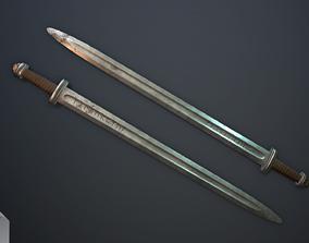 3D asset Scandinavian sword vol 5