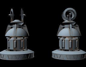 Sci-fi Radar 8 3D