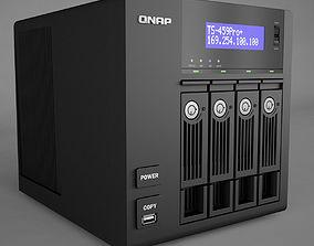 3D model QNAP Network Attached Storage