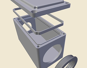 3D print model Electrical box