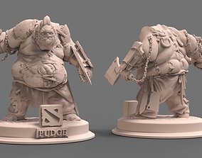 pudge dota 2 3D printable model dota2