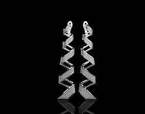 M EARRINGS N210 3D printable model