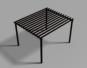3D print model Pergola Shading Device garden
