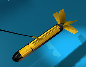 Variable depth sonar 3D model