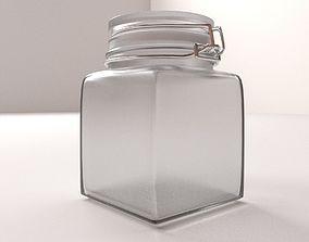 Glass Jar 3D
