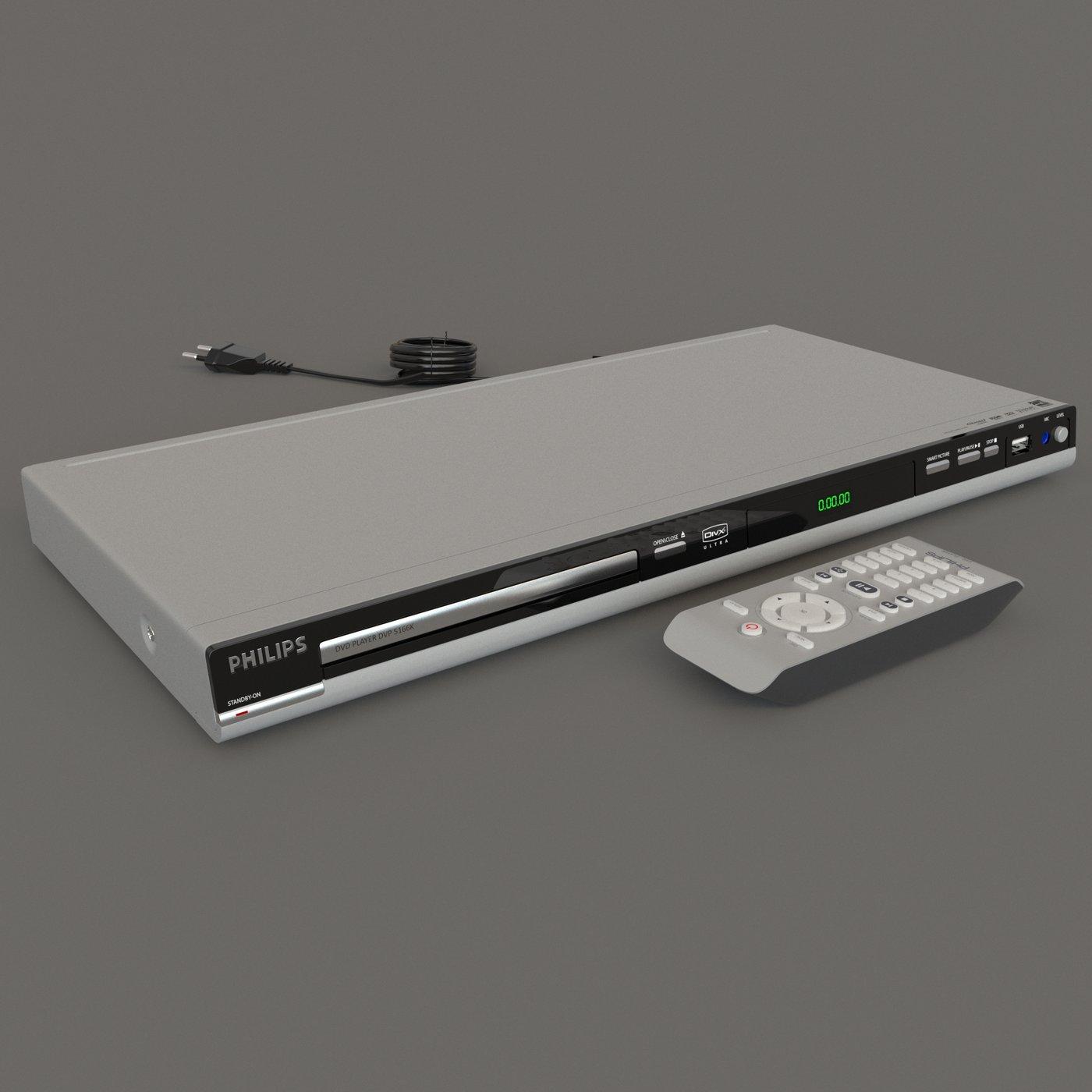 Philips DVD Player DVP 5166K