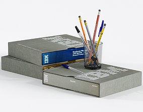 Pens and Pencils 3D model