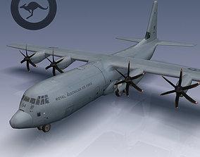 RAAF CC-130J Super Hercules 3D asset