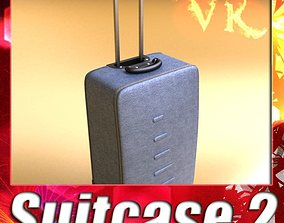Rolling Suitcase 02 High Detail 3D model