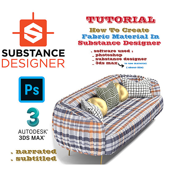 How to Create Fabric Material in Substance Designer Texture