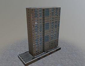 Prague Building7 3D asset
