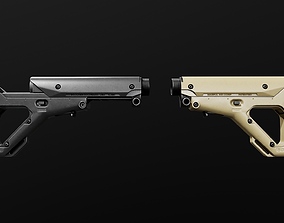 3D asset Magpul UBR AR15 Collapsible Buttstock