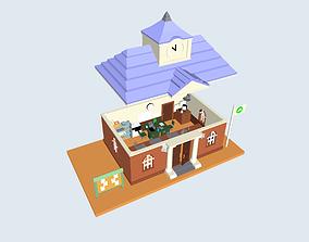 3D printable model Animal Crossing - Town Hall