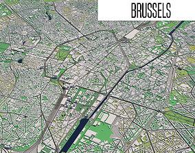 Brussels europe 3D model