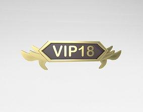 3D model Game VIP Symbol v4 014