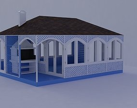 Summer House summer 3D model