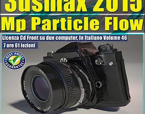 3ds max 2015 MP Particle Flow vol 46 cd front