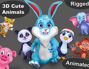 3D asset Animal pack v7